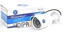 Telecamera Camera CCD HSB-733 Esterni 3,6 mm 700TVL Videosorveglianza 24 Led hsb