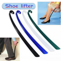 Long Handle Shoehorn Shoe Horn Lifter Disability Aid Stick Flexible Durable 43cm