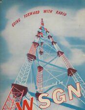 1940s Birmingham Alabama WSGN Radio promotional book; many halftone photos; ABC