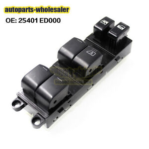 Fits Nissan Tiida Power Master Control Window Switch OEM 25401 ED000 25401-ED000