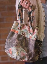 All 'Round Tote Quilt Pattern Pieced JE