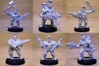 Necromunda House Goliath Models - Games Workshop / Citadel Miniatures 1990s
