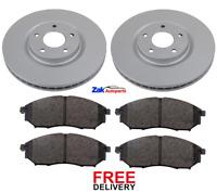 Pour Nissan Qashqai J11 1.2 1.5 1.6 2013-2018 Disques De Frein Avant /& Pads Set New