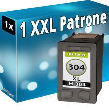 1x TINTE PATRONEN für HP 304 XL DESKJET 2620 2630 2633 3700 3720 3730 3732 bk