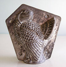 Antique Two Piece Chocolate Mold THANKSGIVING TURKEY V C HERMANN CO GERMANY