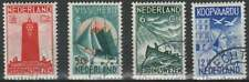 Nederland gestempeld 1933 used 257-260 - Zeemanszegels (02)