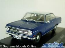 OPEL REKORD A MODEL CAR 1:43 SCALE BLUE IXO HACHETTE 1963-1965 K8