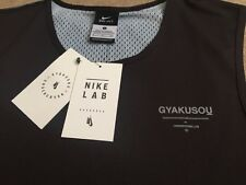 NEW Mens Nike Lab X Undercover Gyakusou Dri-Fit Racer Tank Top Jersey Casual Gym