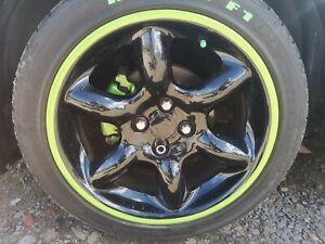 """Mfg MG Tf 16"""" Abingdon Cup Alloy Wheels Black Green Custom"""