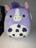 "2021 Easter Squishmallow 11"" Meadow The Horse meadow FAST SHIP Easter exclusive"