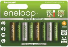 8 New Panasonic Eneloop AA 2100 Cycles Ni-MH Rechargeable Battery