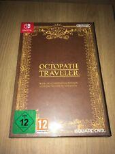 OCTOPATH TRAVELER -NEW- Nintendo Switch Collector Edition Traveler's Compendium