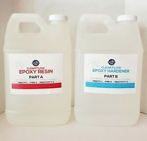 Crystal Clear Bar Table Top Epoxy Resin Coating For Wood Tabletop - 1 Gallon (T…