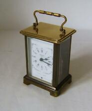 Bayard Paris French Brass Carriage Clock in Working Order: 8 day movement