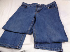 Landsend Blue Jeans Mens 40 W x 29 L Made In Sri Lanka Barely Worn Casual Work