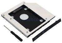 "2nd Hard Drive HD SSD Caddy Adapter for Lenovo Flex2 15"" + IdeaPad G70-80 Z70-80"