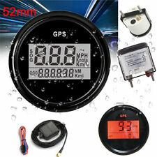 2inch 52mm Car Boat GPS Digital Speedometer Odometer Gauge Motorcycle Waterproof