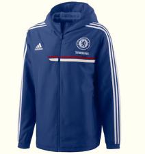 Adidas Herren Jacke Jacket Gr.7 (M) Chelsea London Trainingsjacke Blau 88898