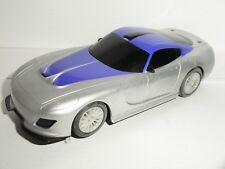 Scalextric-Dodge Viper plata/púrpura-Exc. CDN