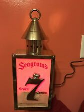 Vintage Seagrams Light Up Bar Sign