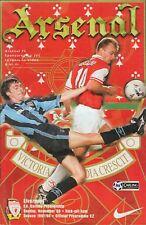 Football Programme - Arsenal v Liverpool - Premiership - 30/11/1997