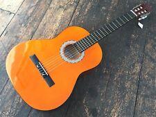 PARA ZURDOS 4/4 Clásico Acústico Nailon Guitarra Con Gratis Púas