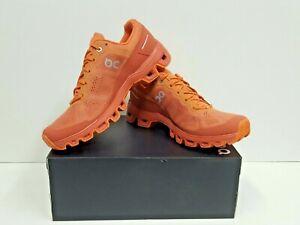 ON RUNNING Cloudventure Women's TRAIL Running Shoe Size 8.5 (Sandstone/Oran) NEW