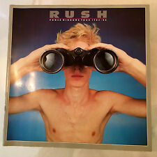 VINTAGE ORIGINAL RUSH POWER WINDOWS 1985 1986 CONCERT PROGRAM TOUR BOOK