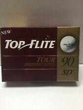 Top Flite Tour 90 Sd Golf Balls, New In Box - 12 count