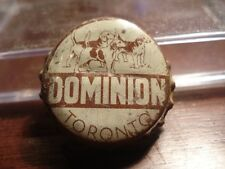 Dominion Ale - Canadian cork beer bottle cap - Canada crown