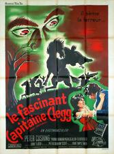 Affiche de cinéma LE FASCINANT CAPITAINE CLEGG 120 X 160 cm avec Peter Cushing