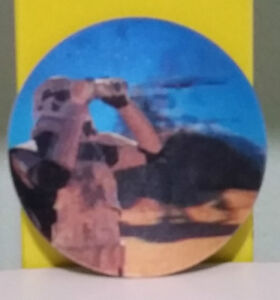 STAR WARS RARE TAZO 131! SAND TROOPER ON A DEWBACH!