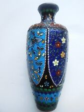 ANTIQUE 19 TH CENTURY JAPANESE  CLOISSONNE VASE