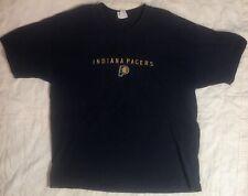 Vintage 90s Indiana Pacers T Shirt Sz XXL NBA Basketball Champion Brand Stitched
