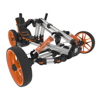 DOCYKE All in One Constructible Rides Electric Kids Go Kart Trike Bike Scooter