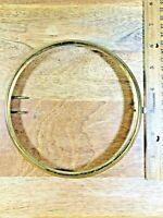 Old Brass Clock Trim Ring (No Glass) 152.04mm Outer Diameter (K5133)