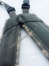US Army New Digital ACU Suspenders H Harness Pistol Equipment Shoulder Straps
