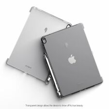 For Apple iPad Pro 10.5 2017 Poetic Shockproof Hybrid TPU Clear Case Cover Gray