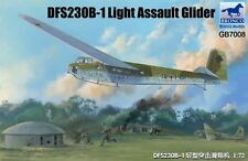 BRONCO GB7009 DFS230V-6 Light Assault Glider w/Decoleration Rocket in 1:72
