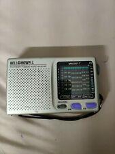 Vintage BELL & HOWELL Shortwave Radio FM/MW/SW 9 Band World Receiver