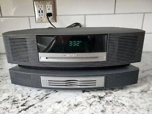 Bose Wave Music System III w 3 Disc CD Changer AM/FM Charcoal Gray and Remote