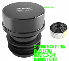 Studor Maxi-Filtra Two Way Carbon Filter Vent Septic Tank + Replacement Filter