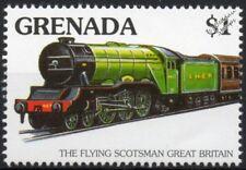 LNER Class A3 4472 FLYING SCOTSMAN 4-6-2 Steam Locomotive Train Stamp #4