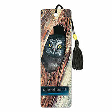 Planet Earth Owl Premier Bookmark NEW Kids Reading Books