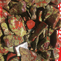 50g-Natural Rare Dragon Blood Stone Crystal Macadam Gravel Slice Reiki Healing