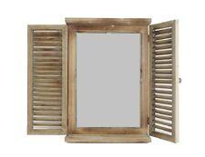Spiegel Landhaus Fenster 16936 Dekoration Wandspiegel Flügel Shabby Antik Design