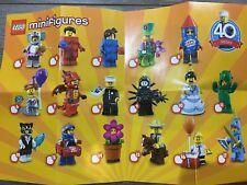 Lego Series 18 Minifigures - Choose your figure - Complete your set *NEW* Mini