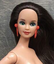1990 Vintage Benetton Teresa Barbie doll & stand.
