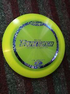 Discraft First Run Elite Z Punisher 170-172 gram Yellow Golf Disc