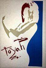 Toyah 80s Memorabilia Vintage retro tshirt transfer print,NOS